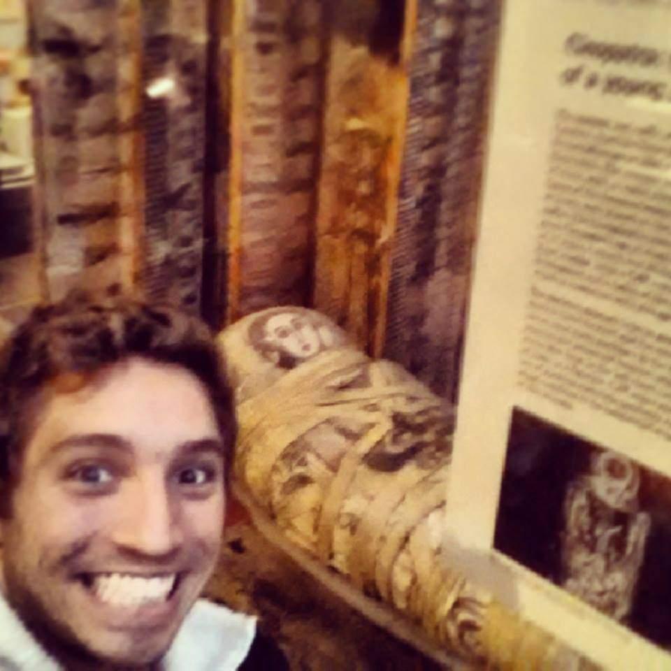 Selfie com Cleopatra :P