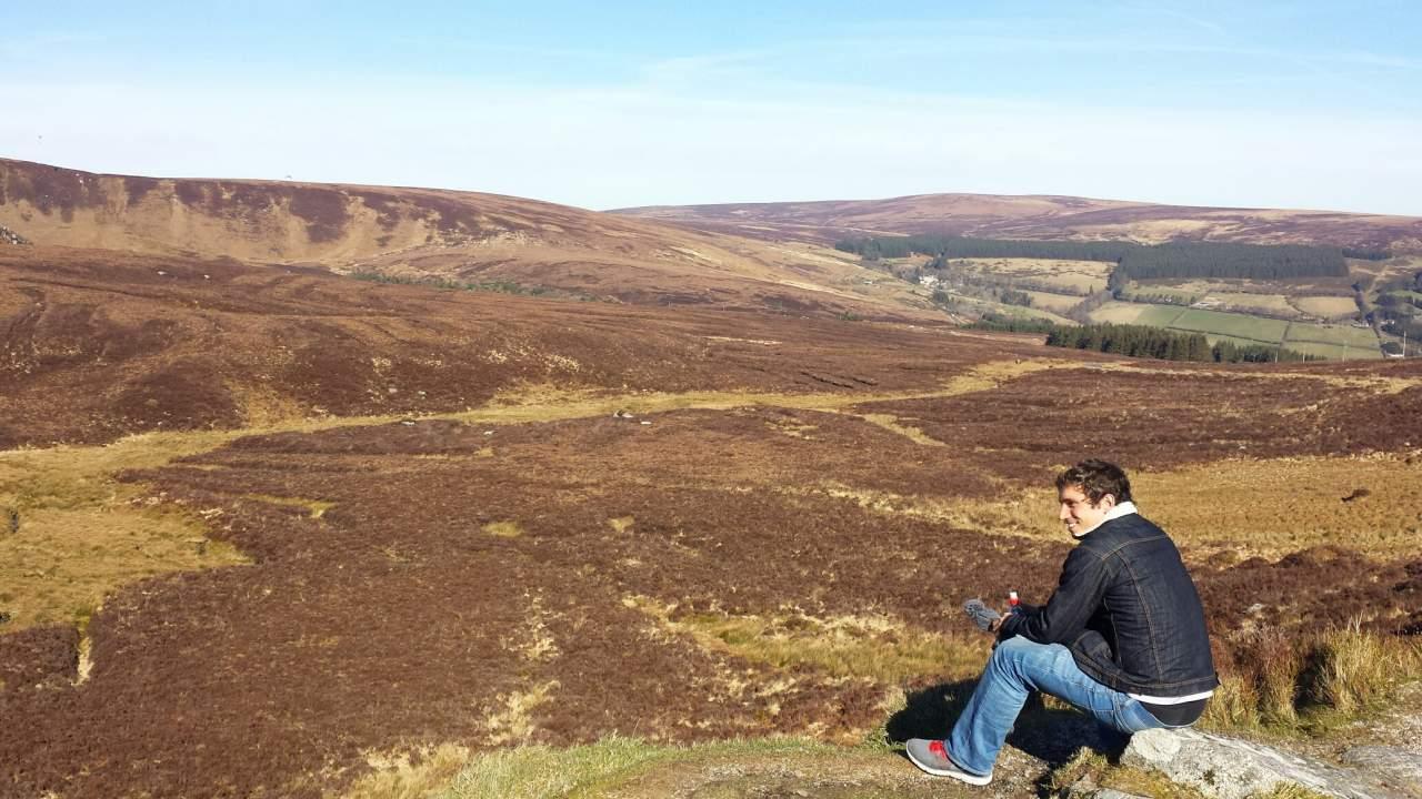 Antes de chegar na cidade fazemos algumas paradas para apreciar a paisagem