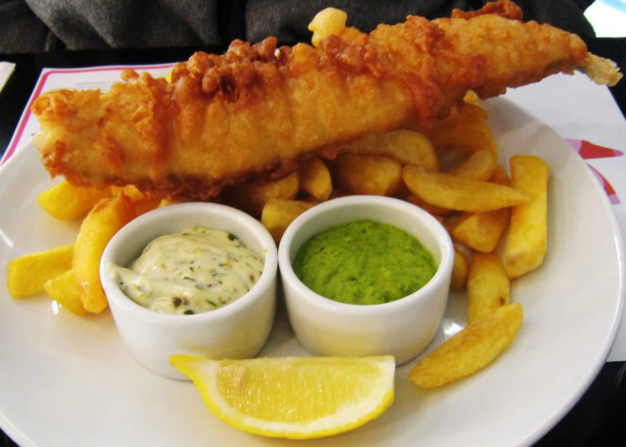O fish and chips de hoje em dia (imagem reproducao)