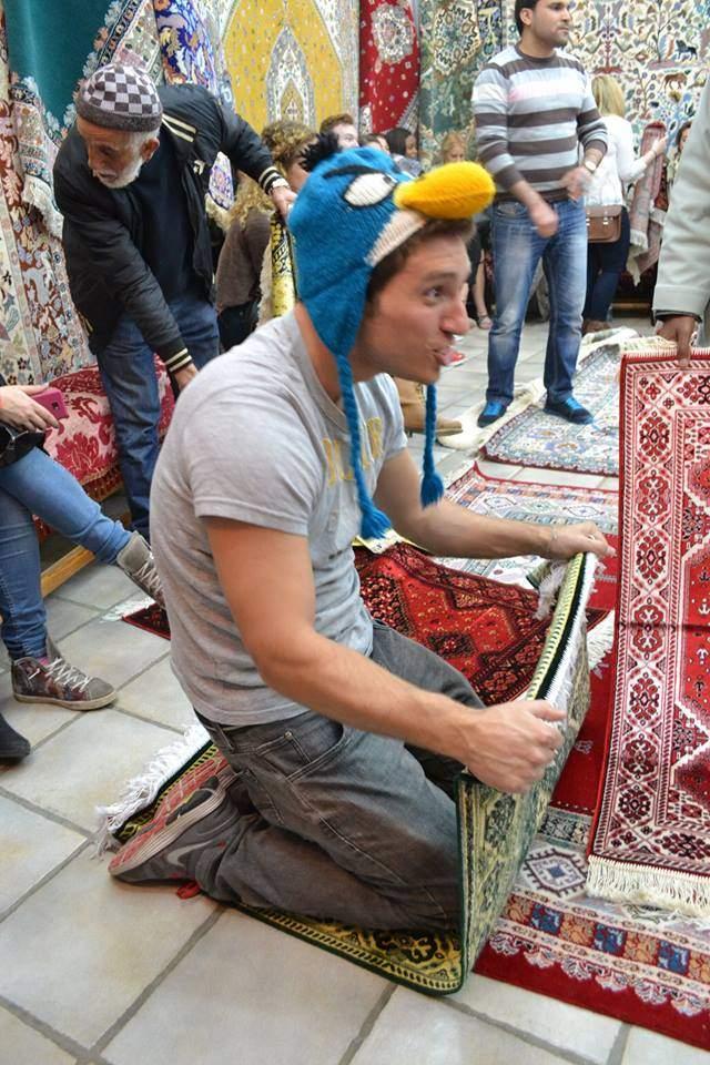 Como o tapete magico da Aladin