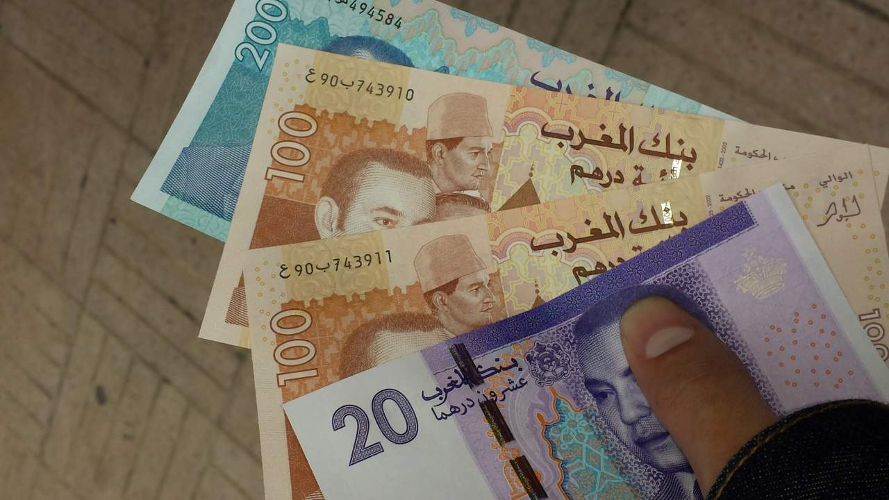1,00 Real = 3,65 Dirham Marroquino
