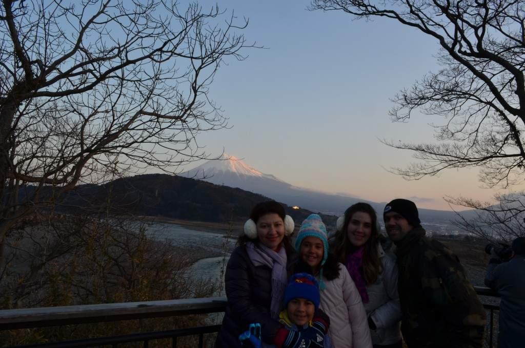 Fuji-san ao amanhecer