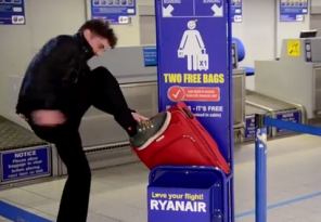 Ryanair Fit Luggage