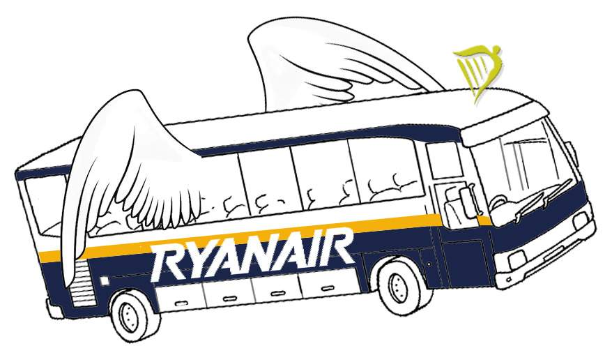 Ryanair Review Bus Airport