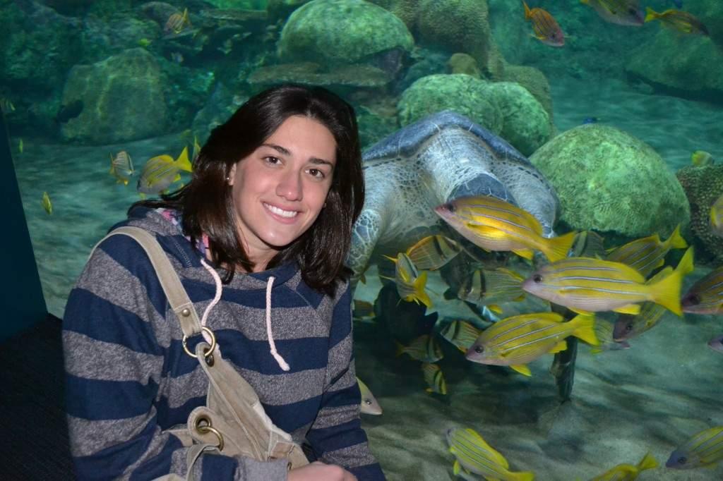 Eu e as tartarugas, a minha segunda paixão!