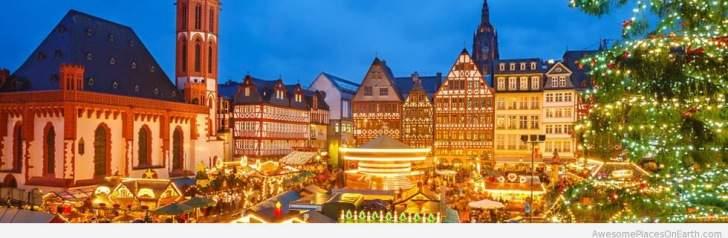 Frankfurt mercado de natal christmas market
