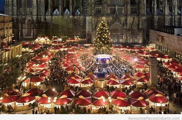Hamburg christmas market mercado de natal