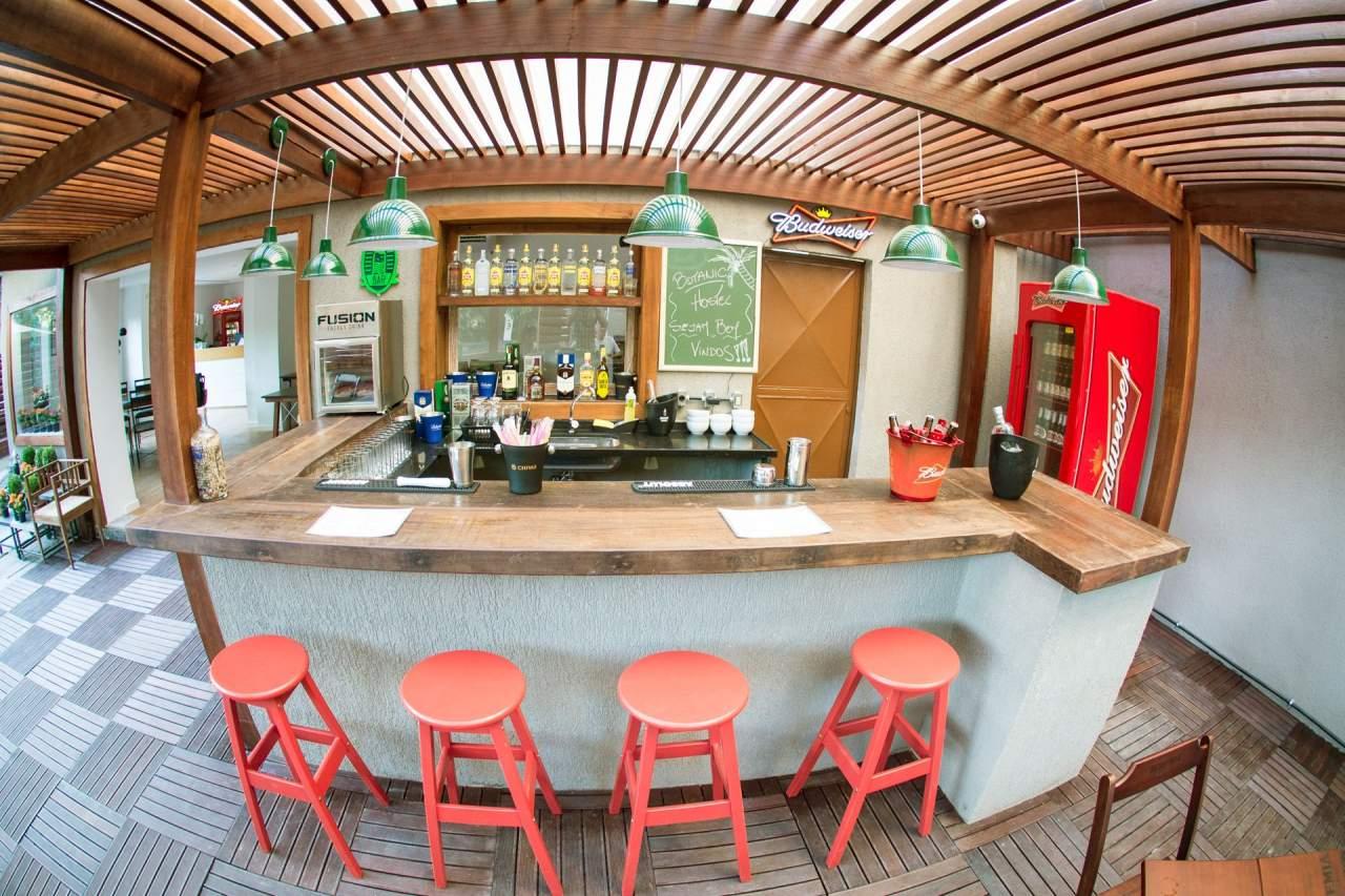 Bar botanic Hostel