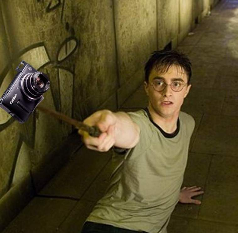 4 selfie harry potter