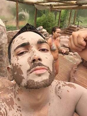 Termas de Cacheuta banho de lama