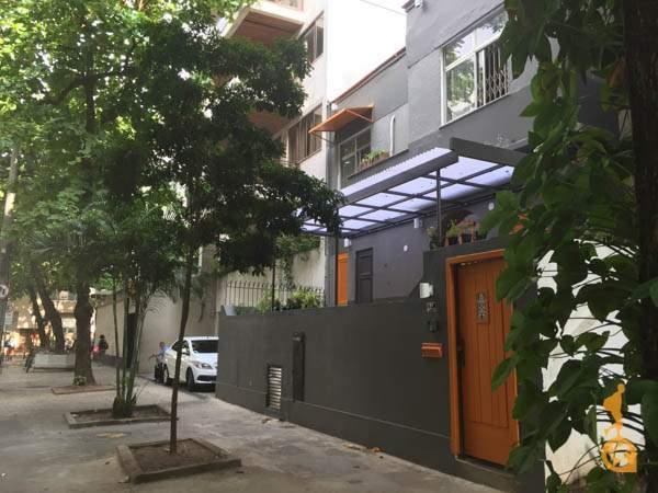 Entrada do Mojito Hostel, Ipanema, Rio de Janeiro