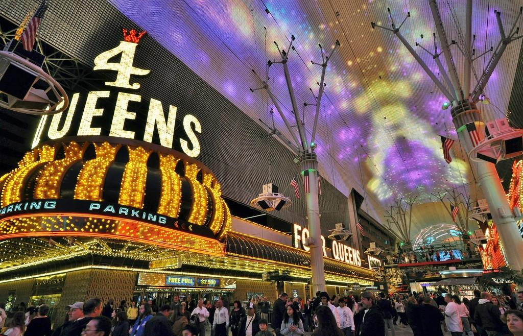 Coisas grátis pra fazer em Las Vegas freemont