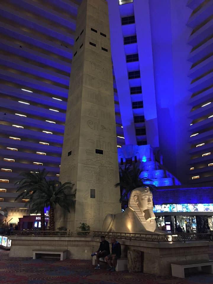 Coisas grátis pra fazer em Las Vegas luxor hotel