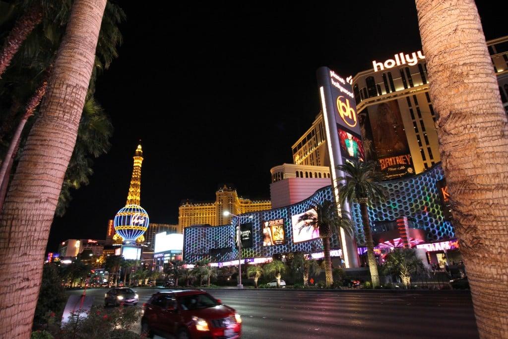 Coisas grátis pra fazer em Las Vegas strip a noitee