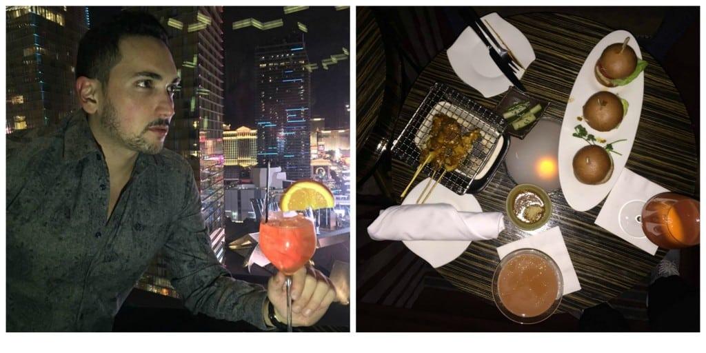 Onde comer em Las Vegas Mandarin Oriental Bar
