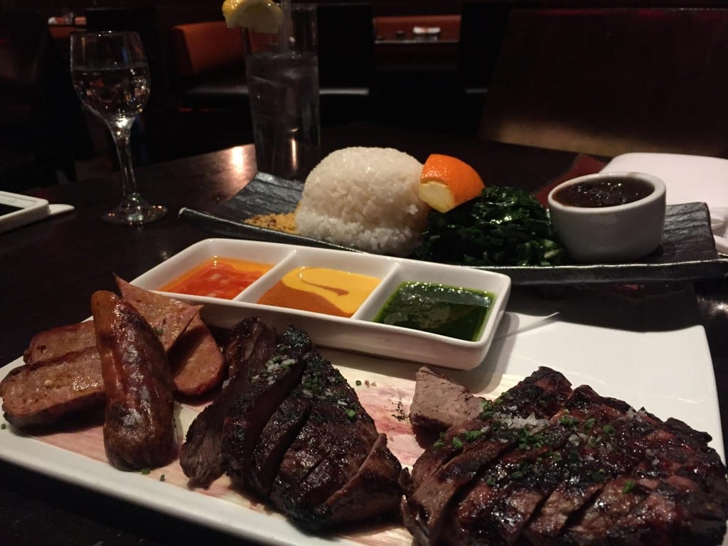 Onde comer em Las Vegas Sushi Samba carne