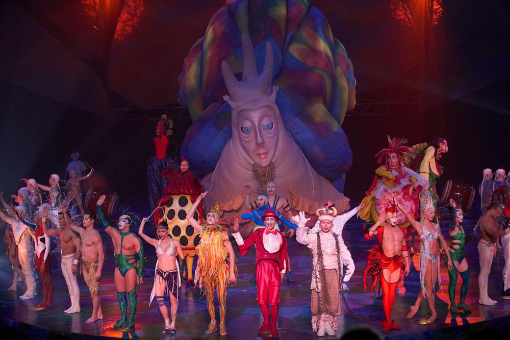 Show em las vegas - cirque du soleil mistere 3