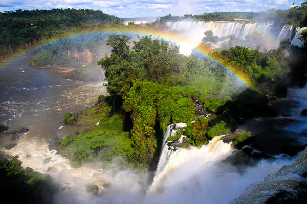 Parque Nacional Iguazu, lado argentino.