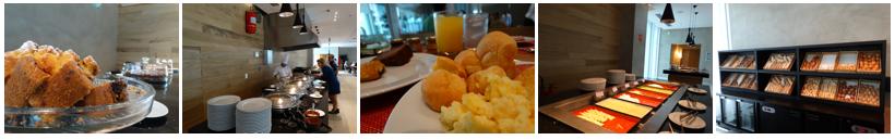 grand mercure café da manhã