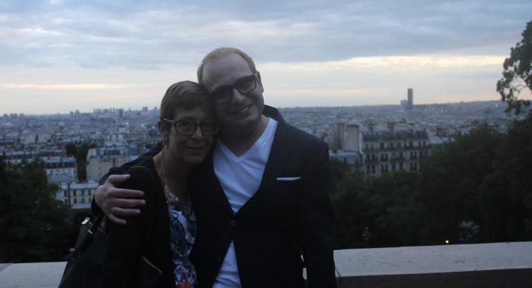 A Viajante Mãe carimbou o passaporte em Paris, onde fechamos a viagem com chave de ouro, com a vista mais linda do mundo!