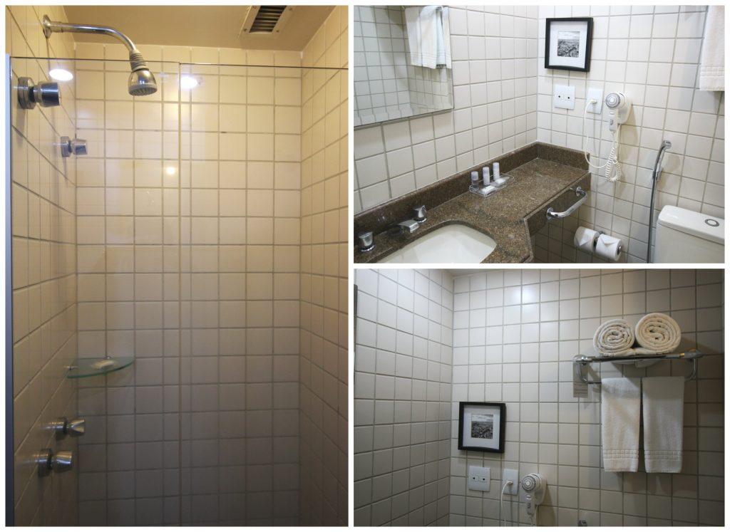 the capital hotel bem localizado em sao paulo banheiro