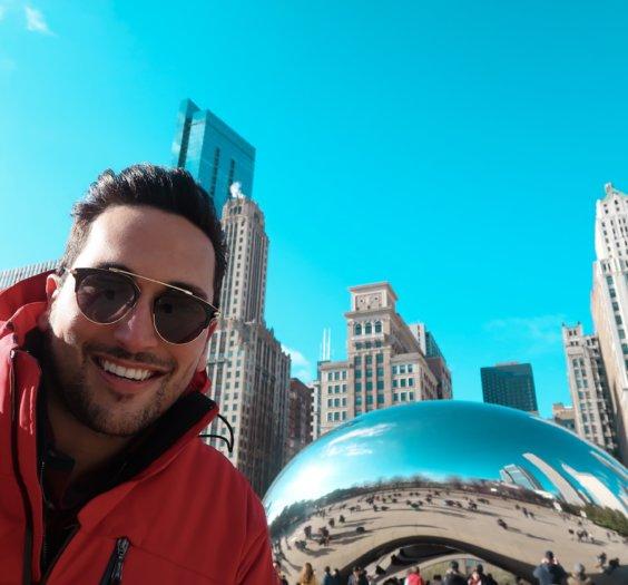 o que fazer em chicago? Millenium park the cloud gate bean 6