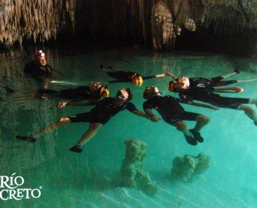 Rio secreto cancun