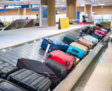 esteira de bagagens