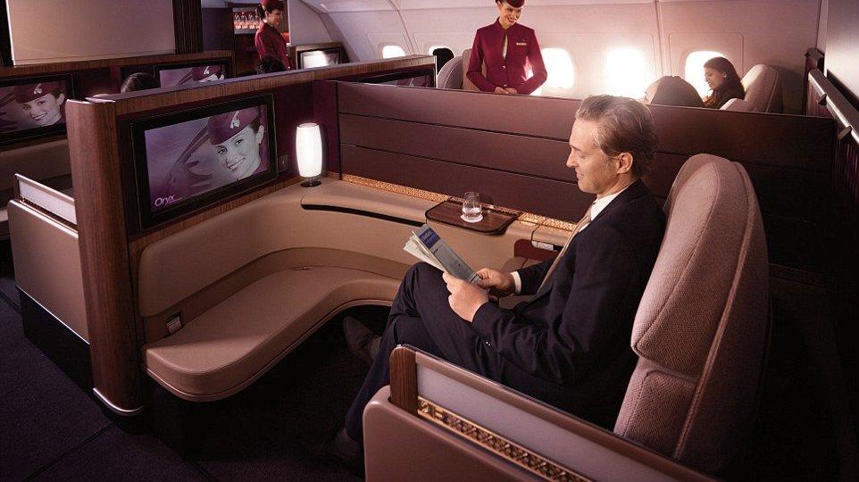 Qatar classe executiva