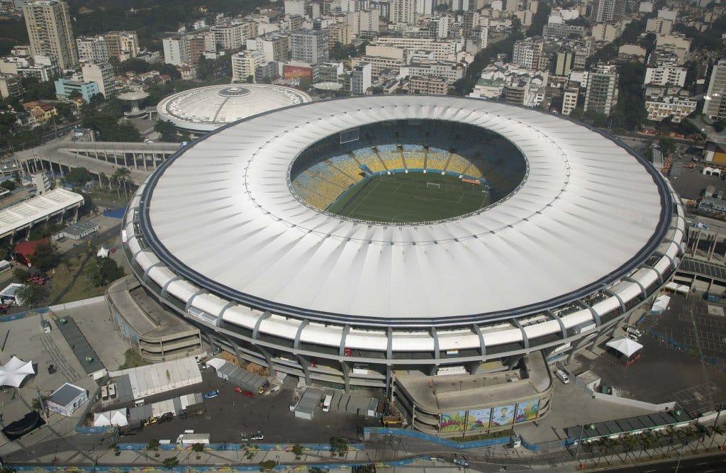 Tour pelo estádio do Maracanã, opção de passeio com chuva no Rio de Janeiro