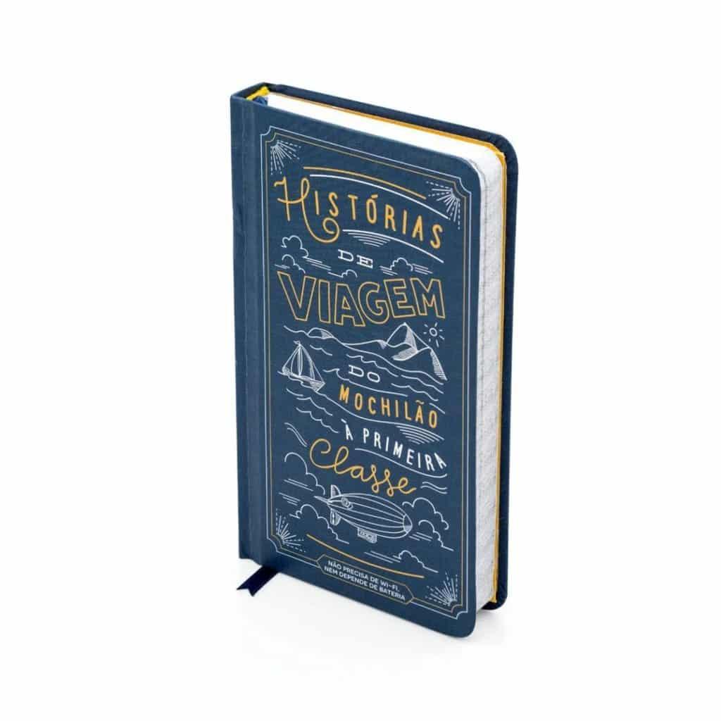 Caderno é uma das opções de presentes para quem gosta de viajar
