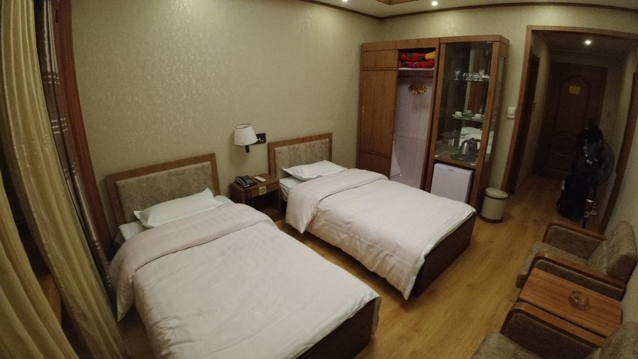 quarto de hotel em pyongyang viajar para a coreia do norte