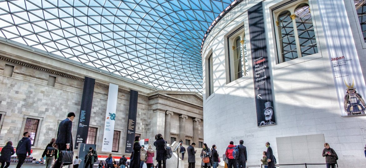 British Museum - Photo by Nicolas Lysandrou on Unsplash