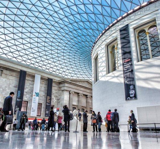 British Museum - Photo by Nicolas Lysandrou on Unsplash