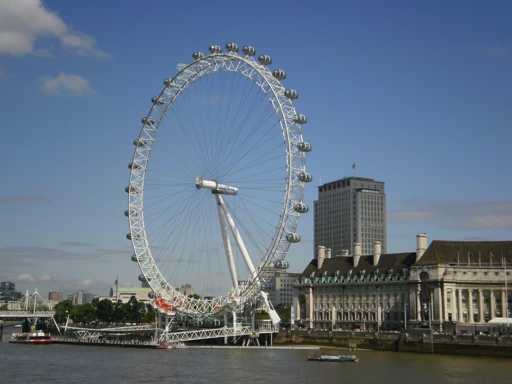 London Eye - Estevam pelo Mundo