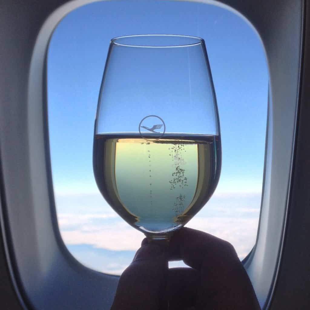 Onboard Champagne