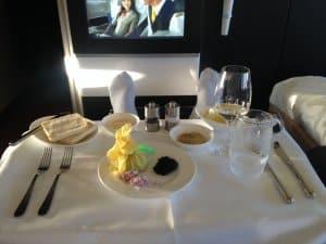 Caviar - Lufthansa - Estevam Pelo Mundo