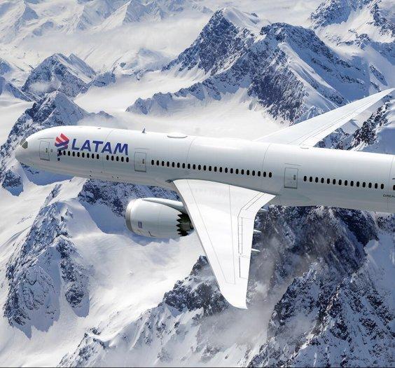 Aeronave Boeing 787-800 da Latam