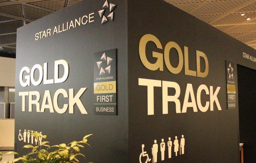 Star Alliance gold Track