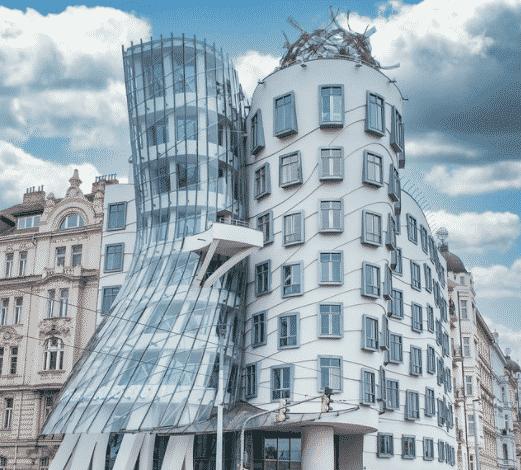 Casa Dançante, em Praga