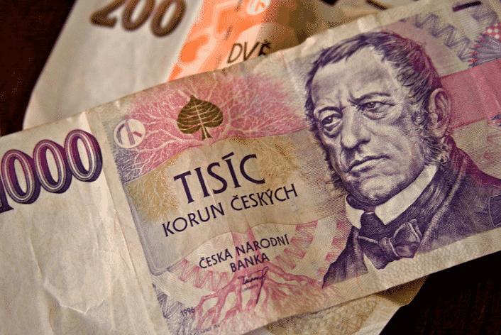 Moeda aceita em Praga - Coroa Tcheca (CZK)