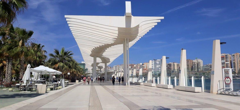Paseo del Parque-Málaga-Espanha