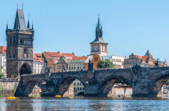 Ponte Charles, em Praga