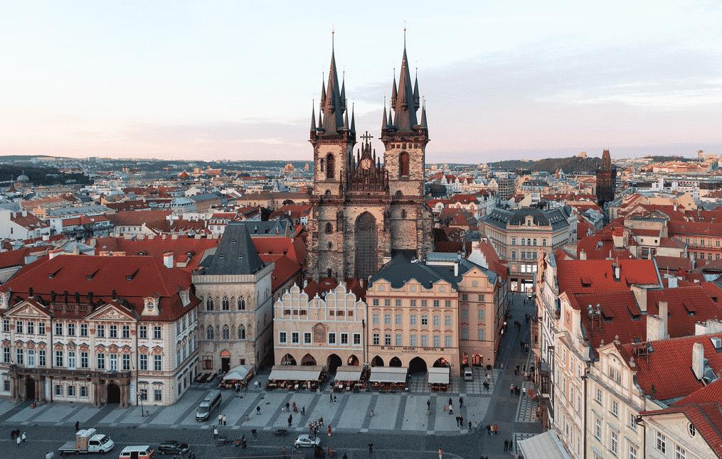 Praga, praça da Cidade Velha