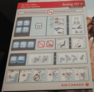 Air Canada - Avião - Estevam Pelo Mundo