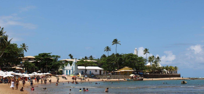 foto 1 - Praia do Portinho no centro de Praia do Forte
