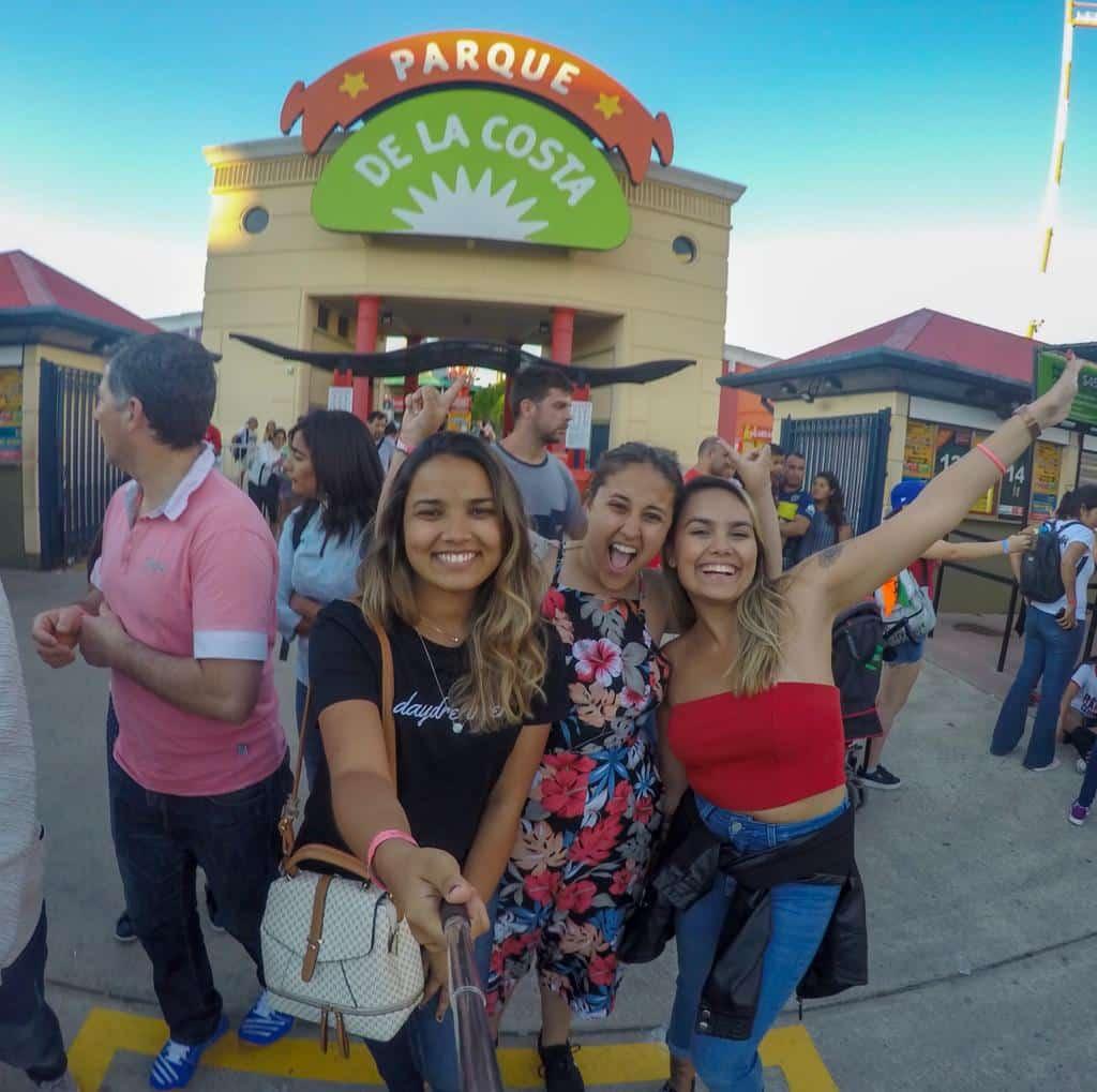 Entrada do Parque de La Costa - Estevam pelo Mundo