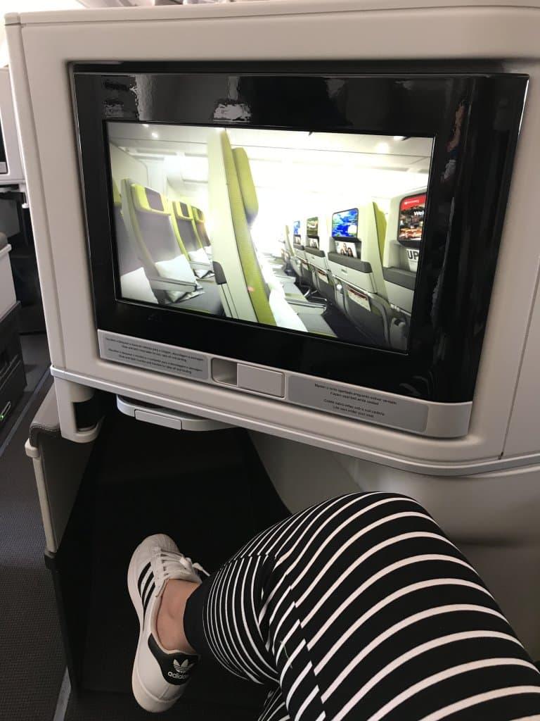 executiva do A330neo da TAP - Estevam pelo Mundo