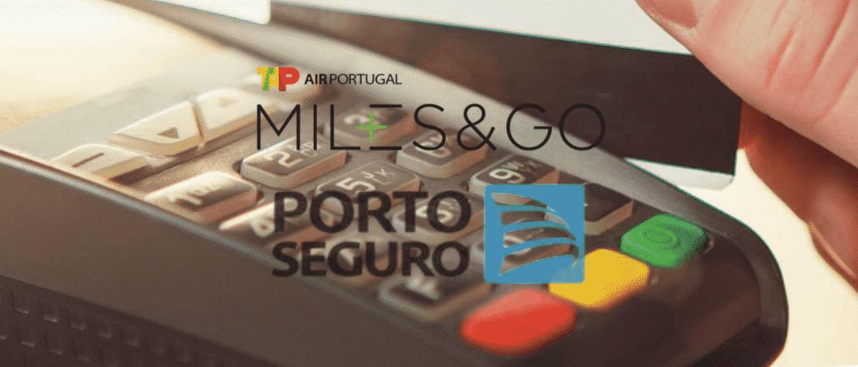 Logo TAP e Porto Seguro