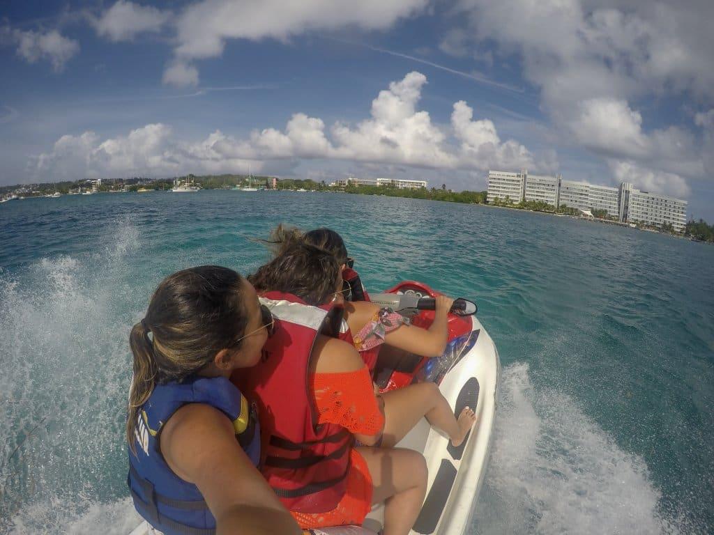 Jet Ski, na Ilha de San Andres